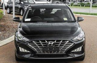 2020 Hyundai i30 PD.V4 MY21 Elite Phantom Black 6 Speed Sports Automatic Hatchback.