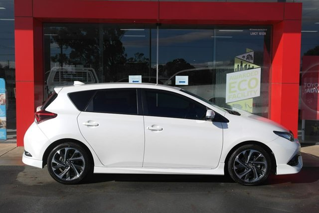 Used Toyota Corolla ZRE182R SX S-CVT Swan Hill, 2017 Toyota Corolla ZRE182R SX S-CVT White 7 Speed Constant Variable Hatchback