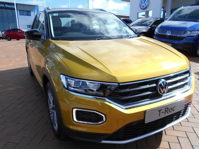 New Volkswagen T-ROC A1 MY21 110TSI Style Toowoomba, 2021 Volkswagen T-ROC A1 MY21 110TSI Style 8 Speed Sports Automatic Wagon