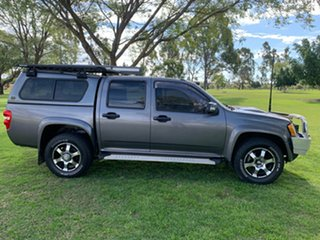2009 Holden Colorado RC MY09 LX Crew Cab Royal Grey 4 Speed Automatic Utility.
