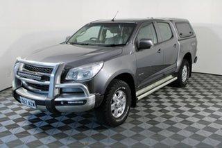 2013 Holden Colorado RG MY14 LT Crew Cab Grey 6 Speed Sports Automatic Utility.