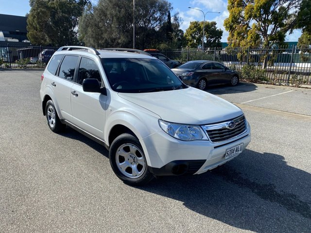 Used Subaru Forester S3 MY09 X AWD Mile End, 2008 Subaru Forester S3 MY09 X AWD White 4 Speed Sports Automatic Wagon