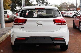 2021 Kia Rio YB MY22 S White 6 Speed Automatic Hatchback.