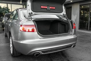 2010 Audi A6 4F MY10 Multitronic Grey 1 Speed Constant Variable Sedan