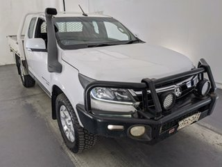 2017 Holden Colorado RG MY17 LS Space Cab White 6 Speed Manual Cab Chassis.