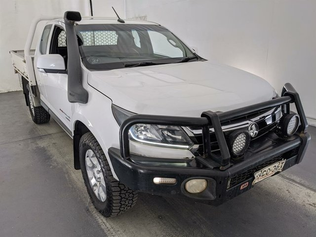 Used Holden Colorado RG MY17 LS Space Cab Maryville, 2017 Holden Colorado RG MY17 LS Space Cab White 6 Speed Manual Cab Chassis