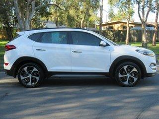 2016 Hyundai Tucson TLe MY17 Highlander D-CT AWD White 7 Speed Sports Automatic Dual Clutch Wagon.
