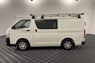 2011 Toyota HiAce KDH201R MY11 LWB White 5 speed Manual Van