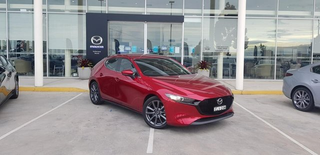 Demo Mazda 3 BP G25 Evolve Vision Kirrawee, 2020 Mazda 3 BP G25 Evolve Vision Soul Red Crystal 6 Speed Automatic Hatchback