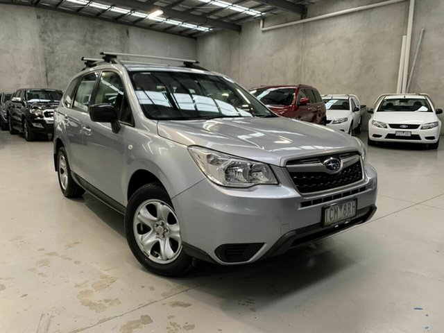 Used Subaru Forester S4 MY14 2.5i Lineartronic AWD Coburg North, 2014 Subaru Forester S4 MY14 2.5i Lineartronic AWD Silver 6 Speed Constant Variable Wagon