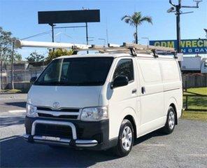 2012 Toyota HiAce TRH201R White 5 Speed Manual Van.
