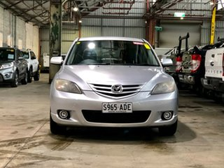 2004 Mazda 3 BK1031 SP23 Silver 5 Speed Manual Hatchback.