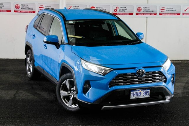 Pre-Owned Toyota RAV4 Mxaa52R GXL 2WD Myaree, 2020 Toyota RAV4 Mxaa52R GXL 2WD Eclectic Blue 10 Speed Constant Variable Wagon