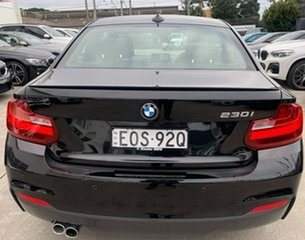 2017 BMW 2 Series F22 230i M Sport Black Sapphire 8 Speed Sports Automatic Coupe