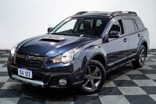 Used Subaru Outback B5A MY14 2.0D Lineartronic AWD Premium Edgewater, 2014 Subaru Outback B5A MY14 2.0D Lineartronic AWD Premium Grey 7 Speed Constant Variable Wagon