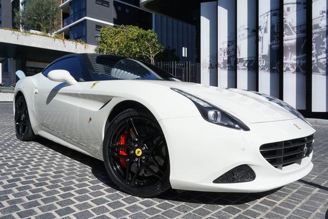 Used Ferrari California F149 T East Brisbane, 2016 Ferrari California F149 T Bianco Avus 7 Speed Sports Automatic Dual Clutch Convertible