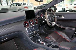 2018 Mercedes-Benz A-Class W176 808+058MY A45 AMG SPEEDSHIFT DCT 4MATIC Silver 7 Speed
