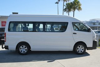 2016 Toyota HiAce KDH223R Commuter High Roof Super LWB French Vanilla 4 Speed Automatic