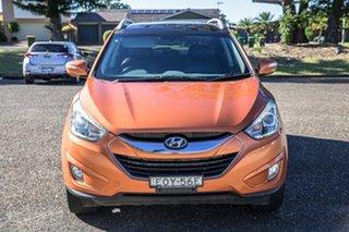 2014 Hyundai ix35 LM3 MY14 Highlander AWD Orange 6 Speed Sports Automatic Wagon.