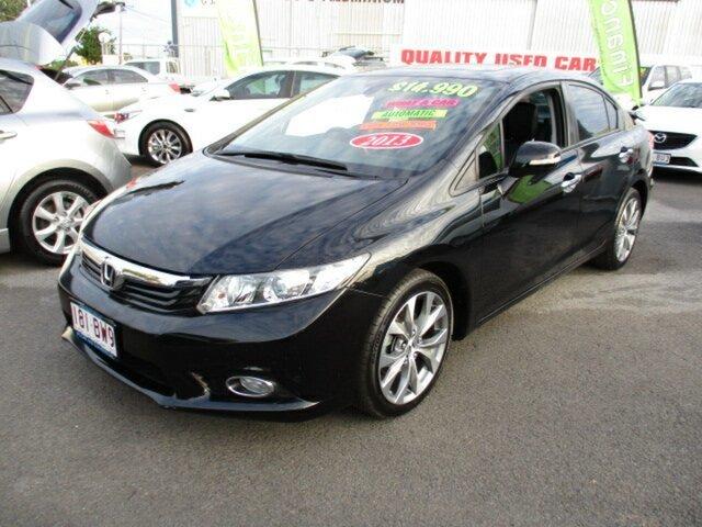 Used Honda Civic Sport Woodridge, 2012 Honda Civic Sport Black 4 Speed Automatic Sedan