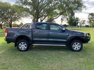 2013 Ford Ranger PX XLT Double Cab Metroploitan Grey 6 Speed Sports Automatic Utility.