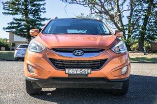 2014 Hyundai ix35 LM3 MY14 Highlander AWD Orange 6 Speed Sports Automatic Wagon