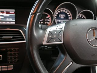 2013 Mercedes-Benz C-Class W204 MY13 C200 7G-Tronic + White 7 Speed Sports Automatic Sedan