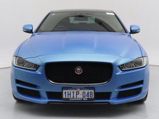 2016 Jaguar XE Prestige Blue 8 Speed Automatic Sedan.