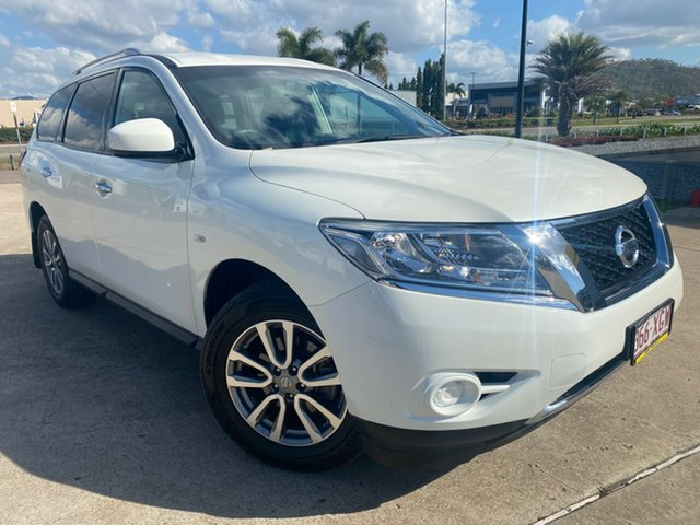 Used Nissan Pathfinder R52 Series II MY17 ST X-tronic 2WD Townsville, 2017 Nissan Pathfinder R52 Series II MY17 ST X-tronic 2WD White 1 Speed Constant Variable Wagon