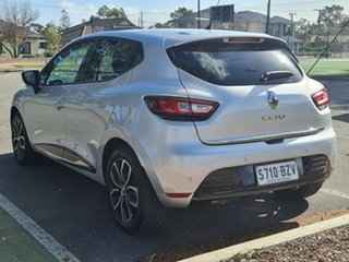 2017 Renault Clio IV B98 Phase 2 Zen EDC Silver 6 Speed Sports Automatic Dual Clutch Hatchback