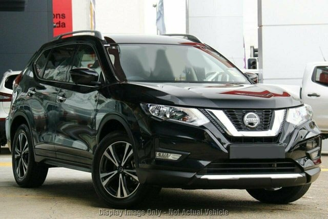 New Nissan X-Trail T32 MY21 ST-L X-tronic 4WD Castle Hill, 2021 Nissan X-Trail T32 MY21 ST-L X-tronic 4WD Diamond Black 7 Speed Constant Variable Wagon