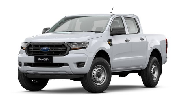 New Ford Ranger PX MkIII 2021.75MY XL St Marys, 2021 Ford Ranger PX MkIII 2021.75MY XL Arctic White 10 Speed Sports Automatic Double Cab Pick Up