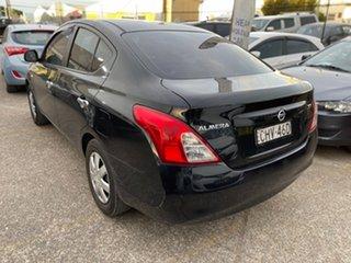 2012 Nissan Almera N17 ST Black 5 Speed Manual Sedan.