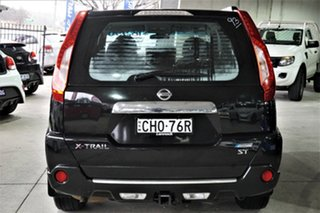 2012 Nissan X-Trail T31 Series IV ST 2WD Black 1 Speed Constant Variable Wagon