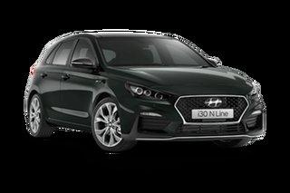 2021 Hyundai i30 PD.V4 N Line Premium Amazon Gray 7 Speed Automatic Hatchback