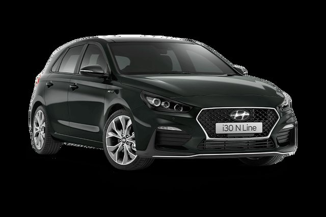New Hyundai i30 N Line Premium Rutherford, 2021 Hyundai i30 PD.V4 N Line Premium Amazon Gray 7 Speed Automatic Hatchback