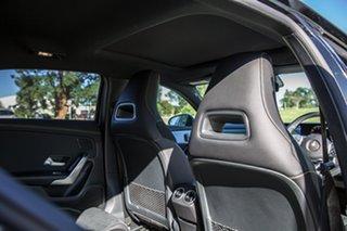 2018 Mercedes-Benz A-Class W177 A200 DCT Black 7 Speed Sports Automatic Dual Clutch Hatchback