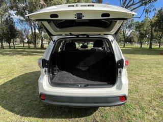 2015 Toyota Kluger GSU55R GXL AWD Crystal Pearl 6 Speed Sports Automatic Wagon