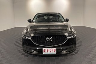 2017 Mazda CX-5 KF4W2A Touring SKYACTIV-Drive i-ACTIV AWD Jet Black 6 speed Automatic Wagon.