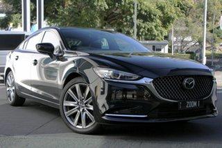 2021 Mazda 6 GL1033 Atenza SKYACTIV-Drive Jet Black 6 Speed Sports Automatic Sedan.