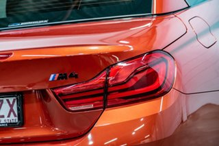 2018 BMW M4 F83 LCI Competition M-DCT Orange 7 Speed Sports Automatic Dual Clutch Convertible