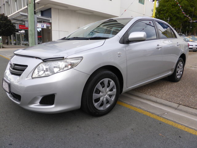 Used Toyota Corolla ZRE152R Ascent Southport, 2007 Toyota Corolla ZRE152R Ascent Silver 4 Speed Automatic Sedan