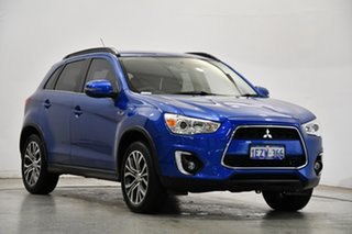2016 Mitsubishi ASX XC MY17 LS 2WD Lightning Blue 6 Speed Constant Variable Wagon