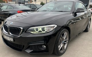 2017 BMW 2 Series F22 230i M Sport Black Sapphire 8 Speed Sports Automatic Coupe.