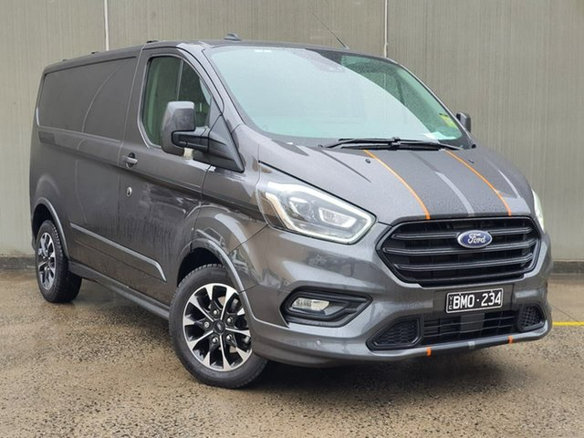 Used Ford Transit Custom VN 2020.50MY 320S (Low Roof) Sport Oakleigh, 2020 Ford Transit Custom VN 2020.50MY 320S (Low Roof) Sport Grey 6 Speed Automatic Van