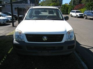 2005 Holden Rodeo RA LX White 4 Speed Automatic Cab Chassis.