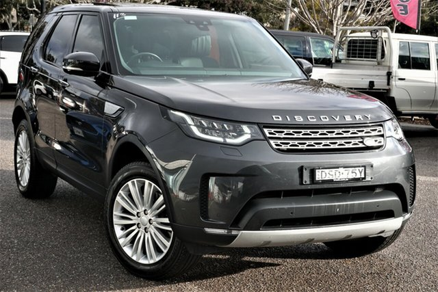 Used Land Rover Discovery Series 5 L462 MY17 HSE Luxury Phillip, 2017 Land Rover Discovery Series 5 L462 MY17 HSE Luxury Grey 8 Speed Sports Automatic Wagon