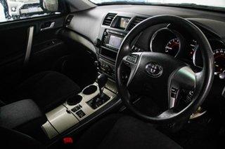 2011 Toyota Kluger GSU45R MY11 Upgrade KX-R (4x4) 7 Seat Tidal Blue 5 Speed Automatic Wagon