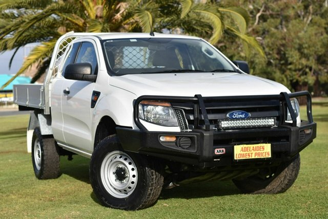Used Ford Ranger PX MkII XL Cheltenham, 2017 Ford Ranger PX MkII XL White 6 Speed Sports Automatic Cab Chassis