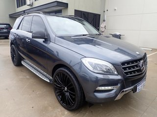 2013 Mercedes-Benz ML500 166 4x4 Grey Metallic 7 Speed Automatic Wagon.